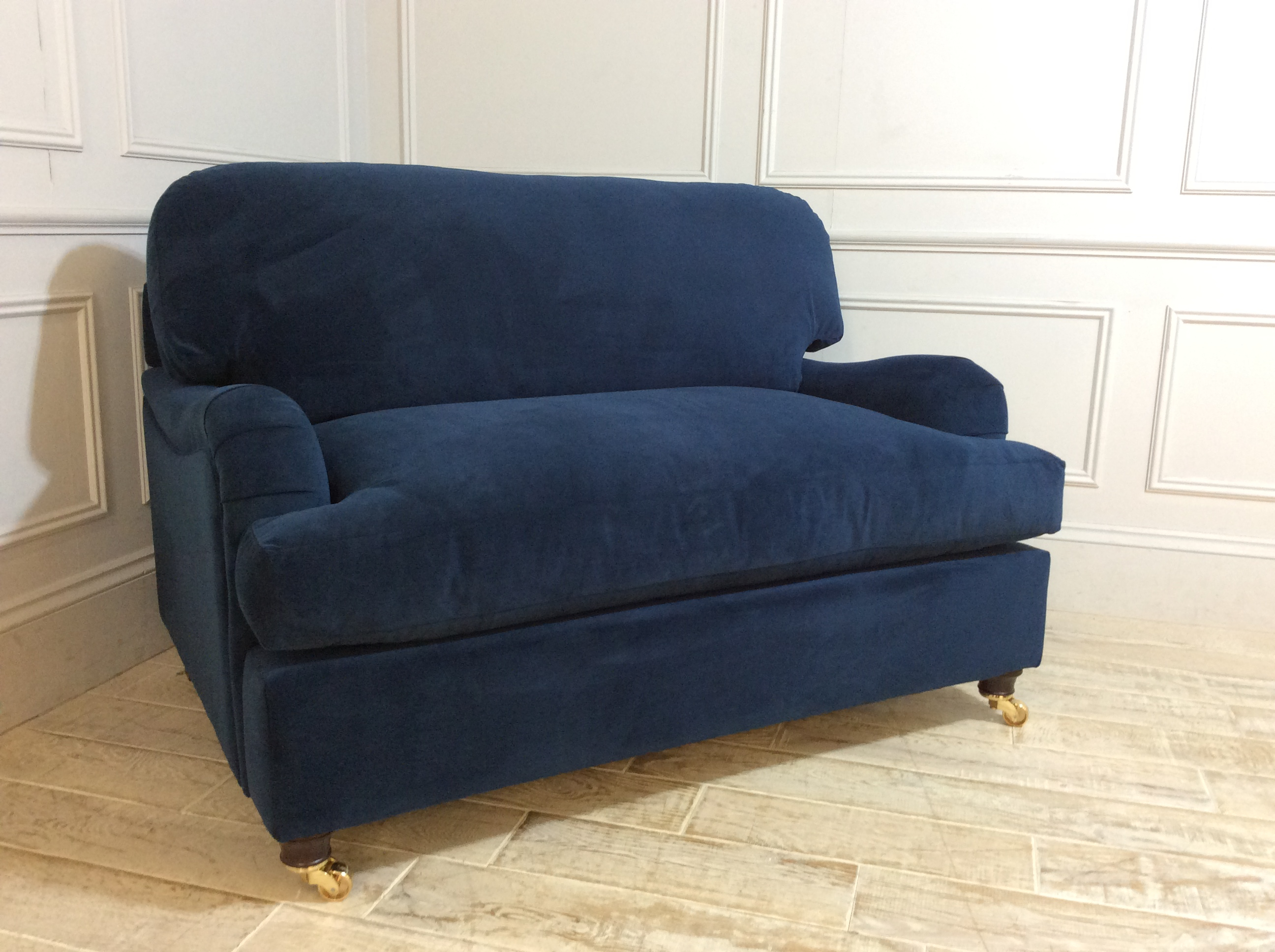 Helston Loveseat Sofa Bed in Royal Blue