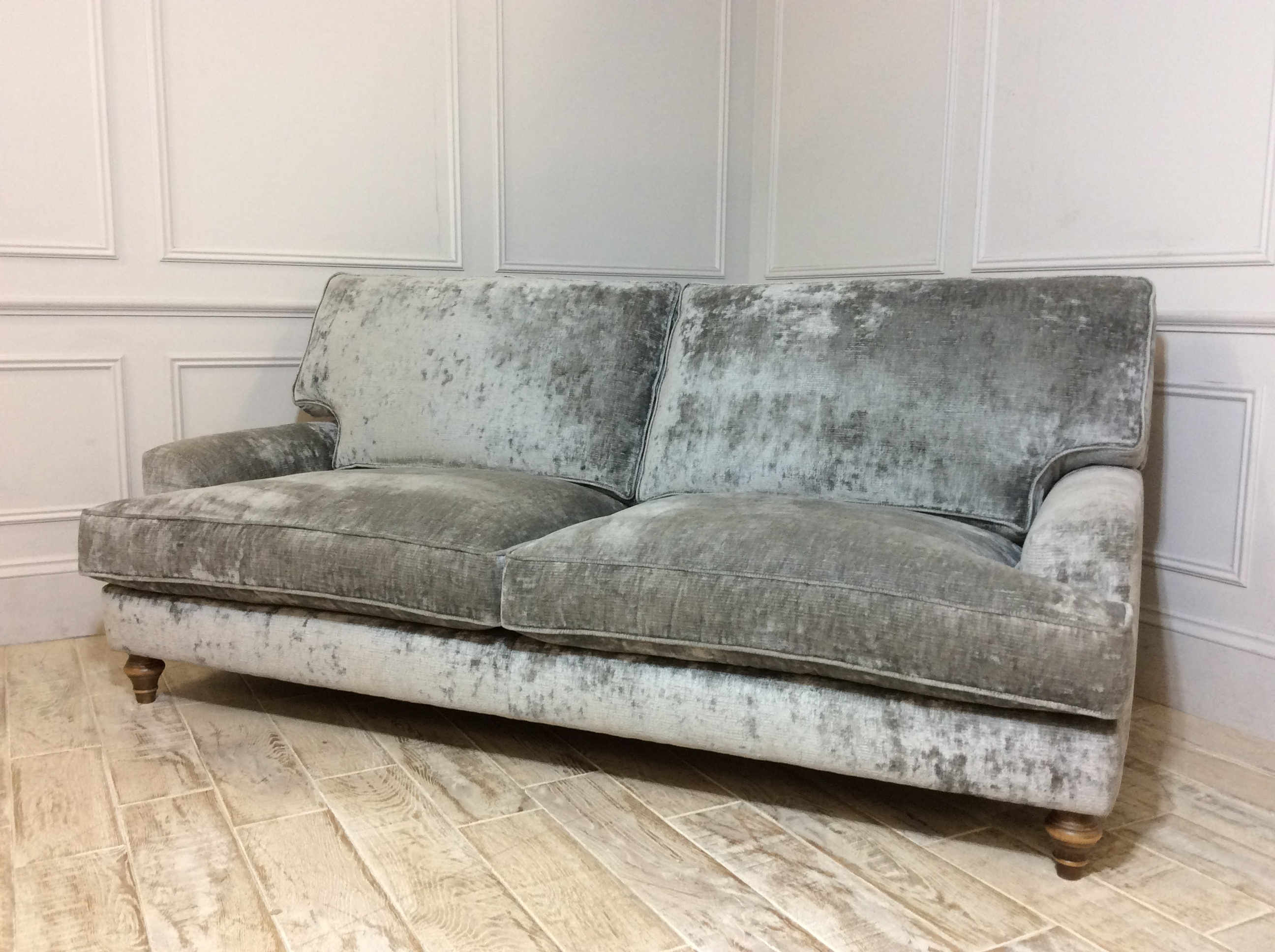 Whinfell Large Fabric Sofa in Traviata French Grey