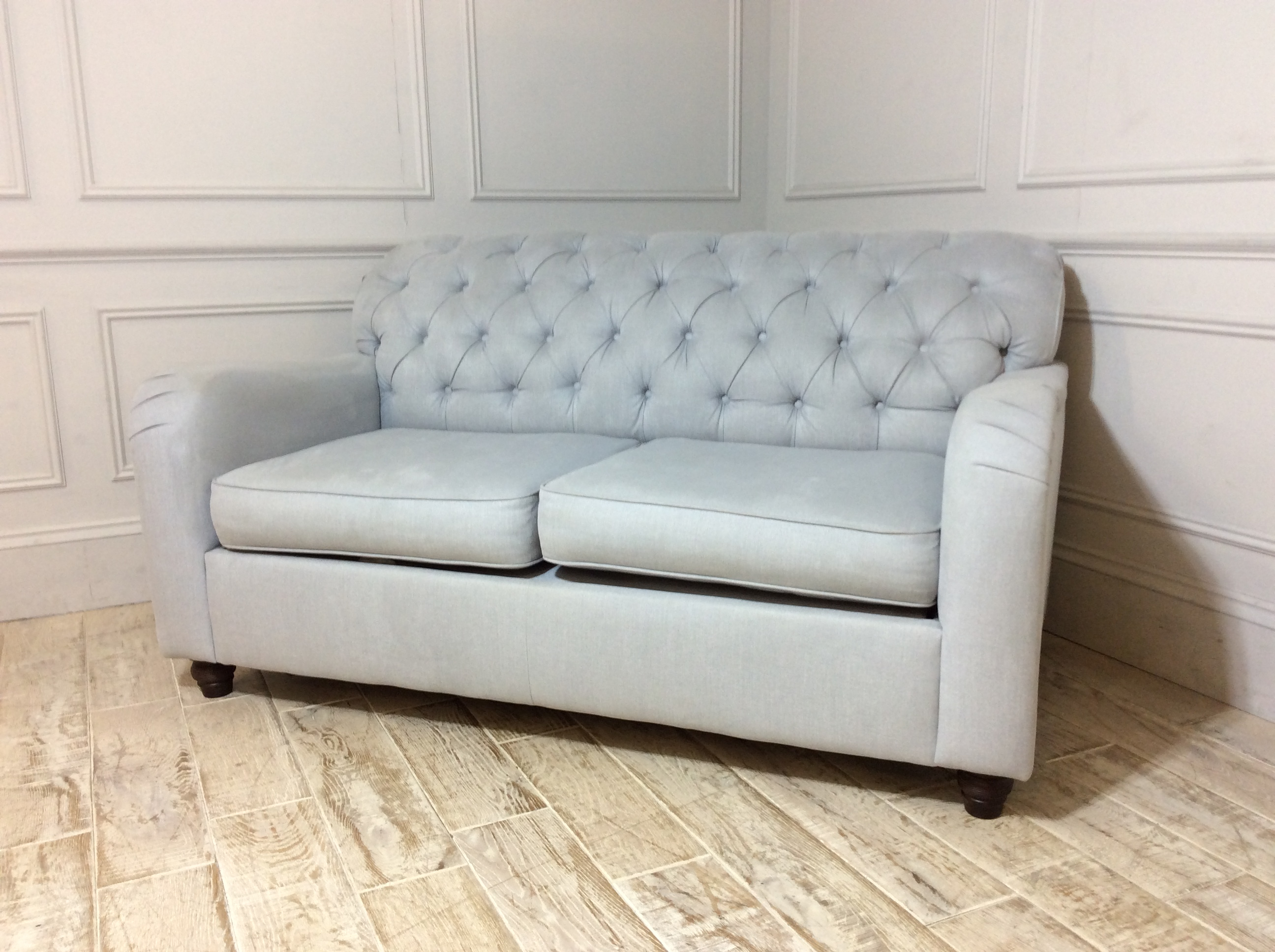Bakewell 2 Seater Fabric Sofa Bed - Mist