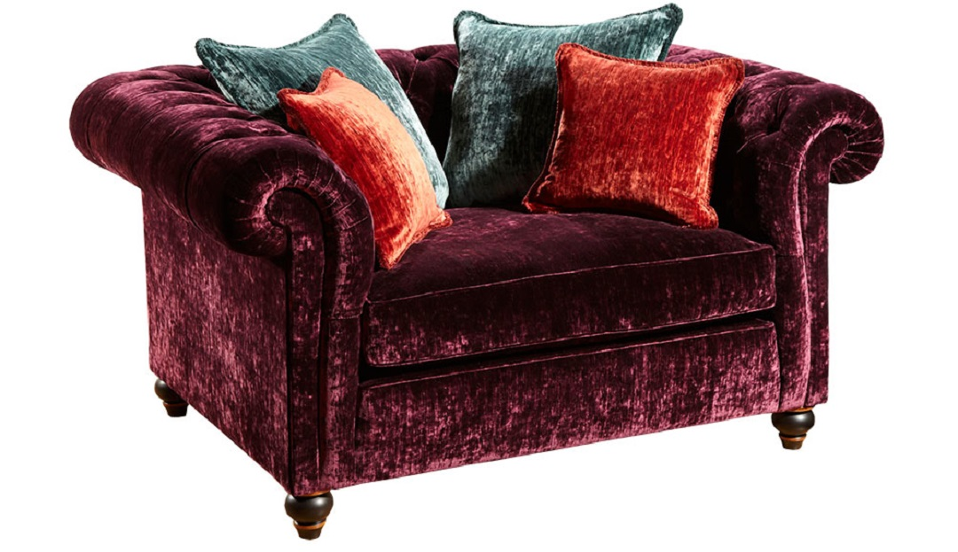 Duresta Connaught Fabric Grand Reading Chair