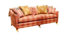 Duresta Trafalgar 3 Seater Sofa With Cushioned Back
