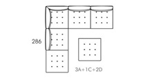 Alice Modular Medium Corner Sofa