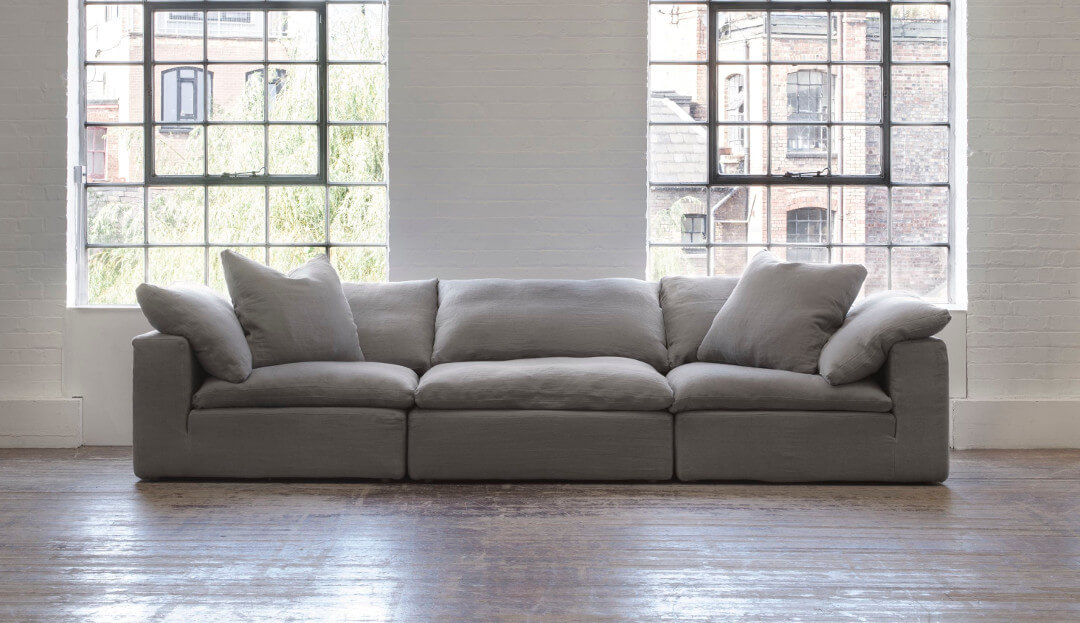 Feather Extra Deep 5 Seater Sofa