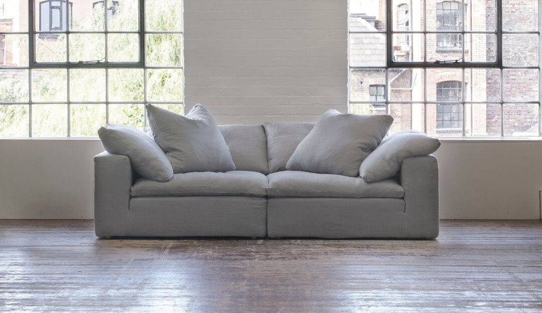 Feather Extra Deep 3 Seater Sofa