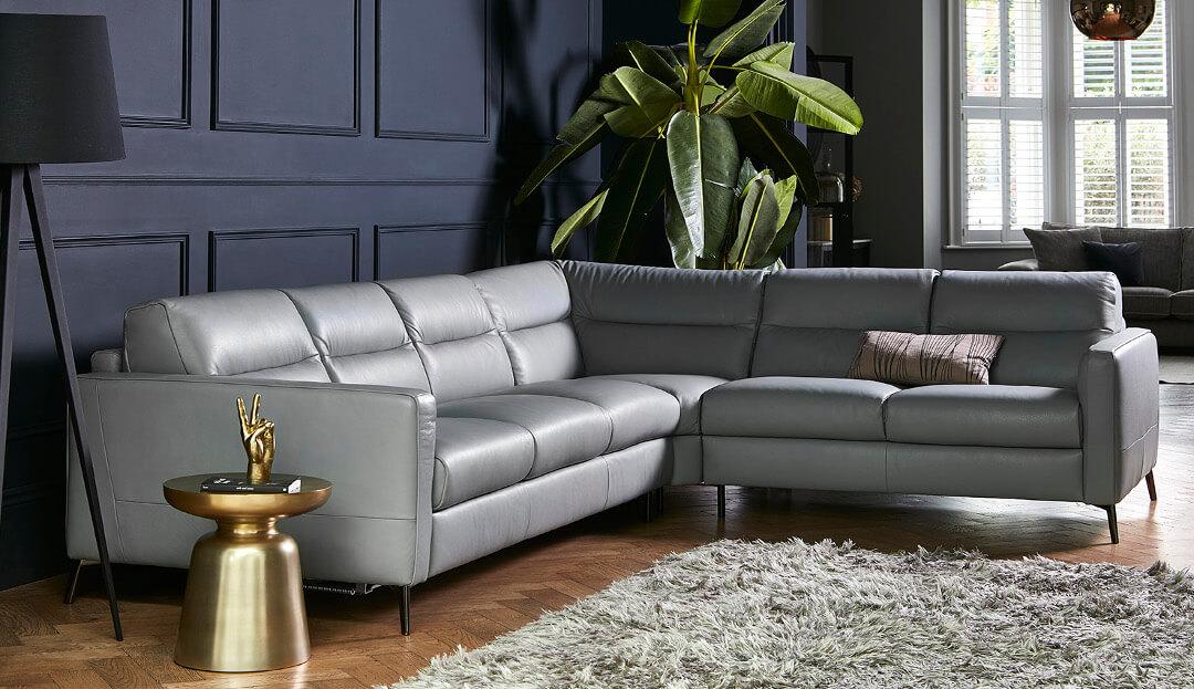 Venice Corner Sofa Bed in 10BK