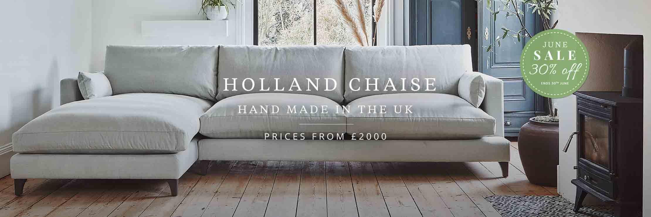 Holland Chaise Sofa